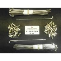 MB22-7-300-SSP STAINLESS STEEL SPOKES FOR ROYAL ENFIELD 7'' FULL WIDTH HUB ON 19'' RIM