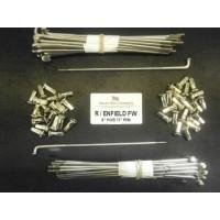 RE13-SSP STAINLESS STEEL SPOKES FOR ROYAL ENFIELD 6'' FULL WIDTH HUB ON 17'' RIM