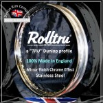 "MC289-SS 19"" WM2 Rolltru Premium Stainless Rim Norton Disc Rear 06-6119"
