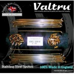 "AA17-2-20-KIT 20"" WM2 Valtru Stainless Rim & Spoke Kit for Ariel 3 & 5 Stud QD Rear *40 Hole* Version"