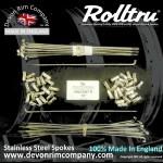 VIN5-SSP STAINLESS STEEL SPOKES FOR 18'' REAR RIM