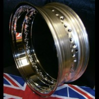 6.0 WIDE STAINLESS STEEL RIMS