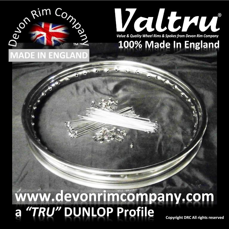 Valtru Trade Finish Stainless Rim & Spoke Kits